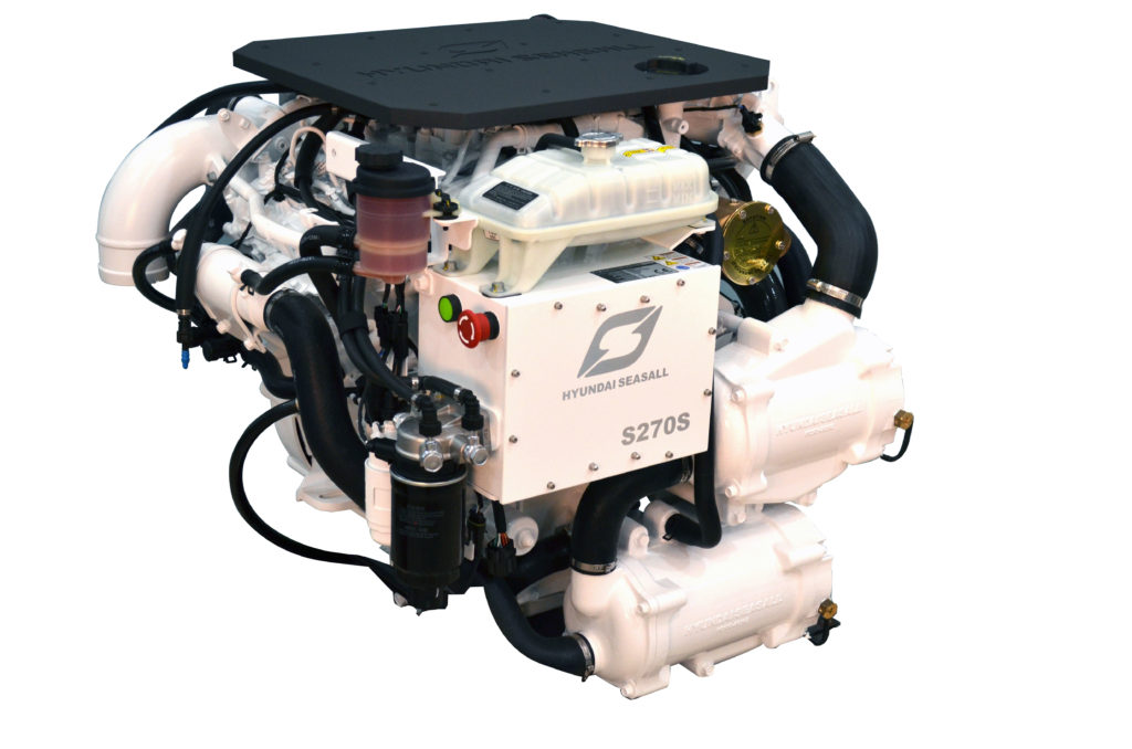 S270 Hyundai Seasall Engine