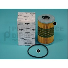 81.12503.0063 Fuel Filter, Cannister type
