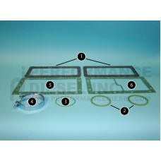 06.56343.2241 - MAN Aftercooler Gaskets  - Item: 3