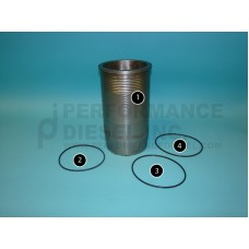 51.01201.0435 MAN Cylinder Liner, D2876 CR - Item 1
