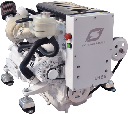 Hyundai-Seasall U125 marine engine