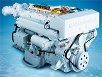 MAN yacht engine